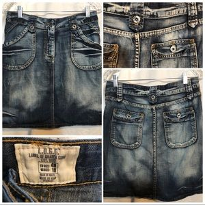 L.O.G.G. Jean skirt size 10 from H&M